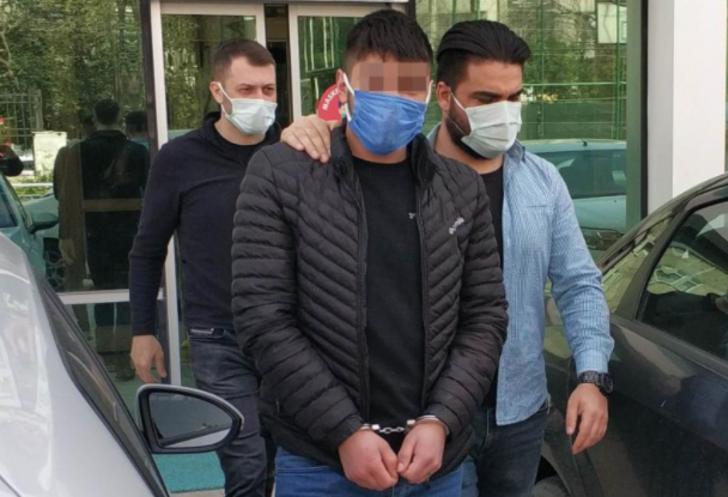 Polisi görüp GBT yaptırdı, hapis cezası çıkınca tutuklandı