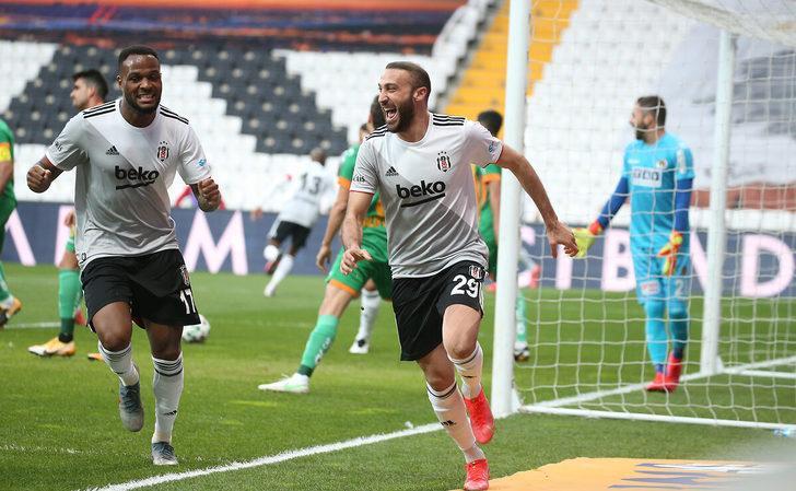 ÖZET | Beşiktaş-Alanyaspor: 3-0 (Maç sonucu)