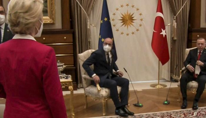 Avrupa'nın konuştuğu görüntü! Tepkiler sonrası AB liderinden açıklama