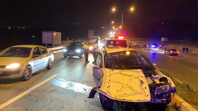 Adıyaman'da iki trafik kazasında 6 kişi yaralandı