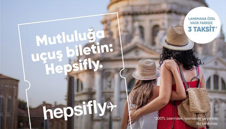 Türkiye'nin Hepsiburada'sı Hepsifly ile artık göklerde!