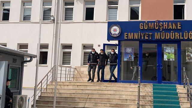 GÜNCELLEME - Gümüşhane'deki uyuşturucu operasyonunda yakalanan 2 şüpheliden biri tutuklandı