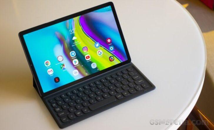 Samsung Galaxy Tab S5'e güncelleme için hazır