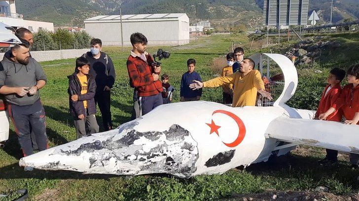 Osmaniye'de garip olay: Hava aracı düştüğünü duyan koşup geldi
