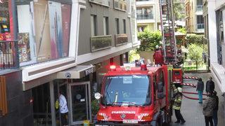 Kadıköy'de korkutan yangın! Yaralılar var