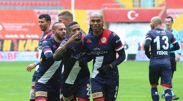 Hes Kablo Kayserispor 0-1 Fraport TAV Antalyaspor: (Maç Sonucu)