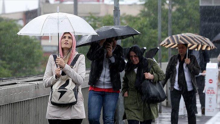 Meteoroloji'den çok sayıda il için yağmur ve kar uyarısı (13 Nisan Salı hava durumu)