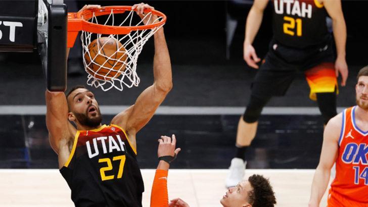Utah Jazz evinde Oklahoma'yı mağlup etti