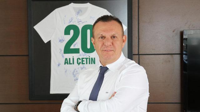 Denizlispor Başkanı Çetin takıma inanıyor