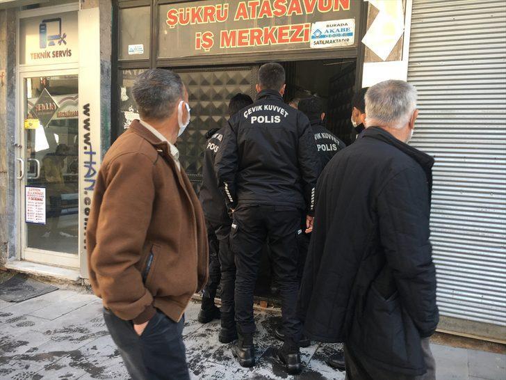 Nevşehir'de kahvehanede sosyal mesafe kuralına uymayan 11 kişiye 34 bin 650 lira ceza verildi