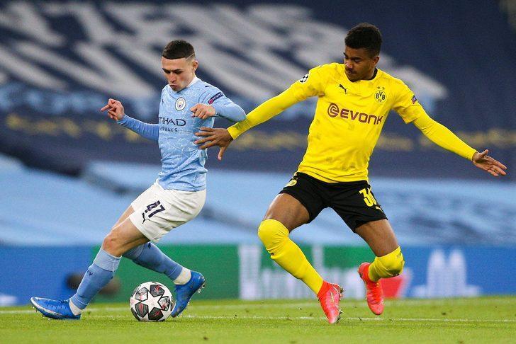 Manchester City, Dortmund'u eledi! PSG ile eşleşti