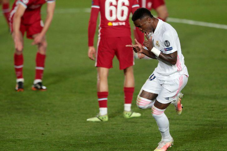 Real Madrid, Liverpool'u eledi ve yarı finale yükseldi
