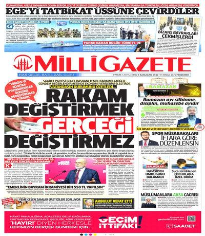 Milli Gazete oku