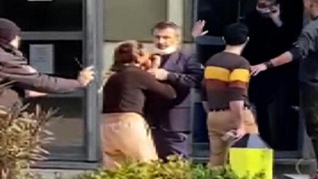 İstanbul'da korku dolu anlar! Silahla eşini rehin aldı