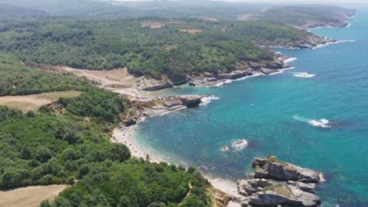 İstanbul'un hemen yakınında doğal güzellik 'Sardala Koyu' yaza hazırlandı
