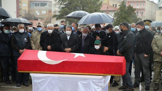 Şehit Uzman Çavuş Hacı Halil Kızılay, Malatya'da son yolculuğuna uğurlandı