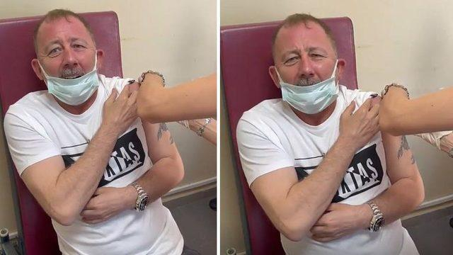Sergen Yalçın aşı oldu: Bu neymiş böyle ya