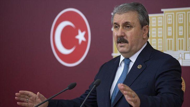 BBP Genel Başkanı Destici'den, Anayasa Mahkemesinin HDP'nin kapatılması istemli iddianameyi iadesine tepki