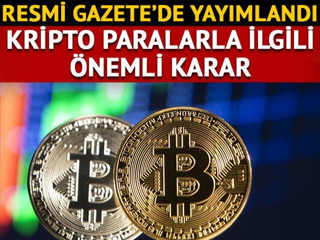 Son Dakika: Resmi Gazete'de yayımlandı! Kripto paralarla ilgili önemli yönetmelik