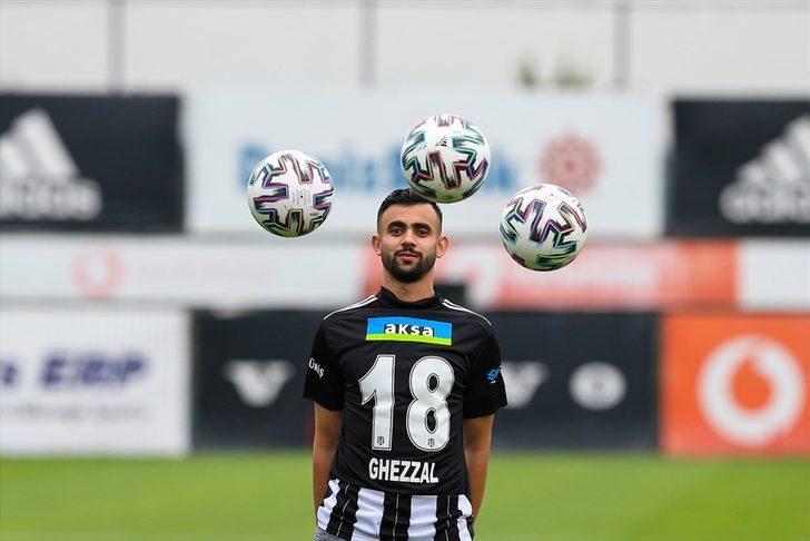 Rachid Ghezzal: Beşiktaş'ta kalma konusunda pozitifim