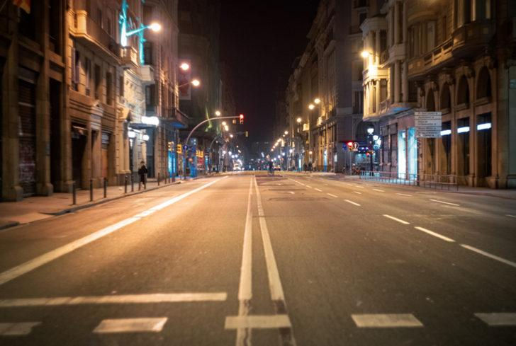 Son Dakika: Türkiye genelinde 3 günlük sokağa çıkma kısıtlaması başladı