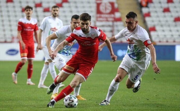 MAÇ SONUCU | Antalyaspor 2-3 Çaykur Rizespor