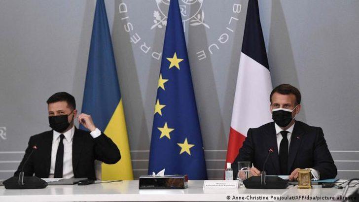 Almanya, Fransa ve Ukrayna'dan Rusya'ya çağrı