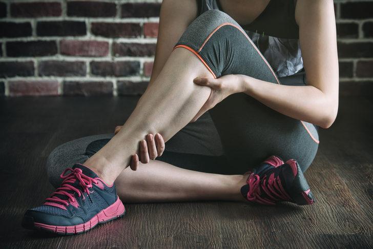 Bacaklarınıza sık sık kramp giriyorsa yapmanız gerekenler