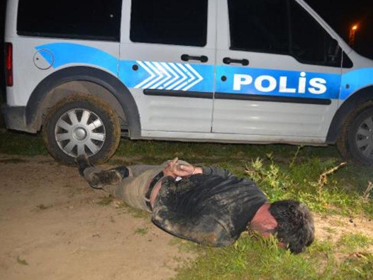 Polisten 10 km kaçtı, yakalanınca kendini böyle savundu
