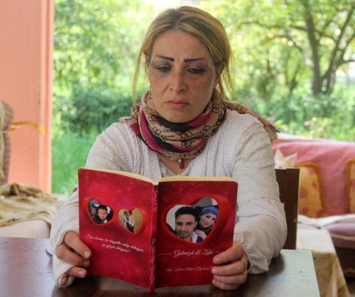 Öldüresiye dövdüğü karısı için aşk kitabı yazdığı ortaya çıktı