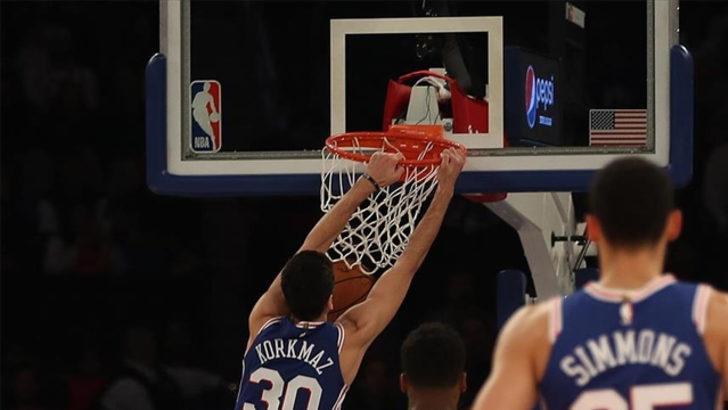 Clippers'ı Furkanlı 76ers durdurdu