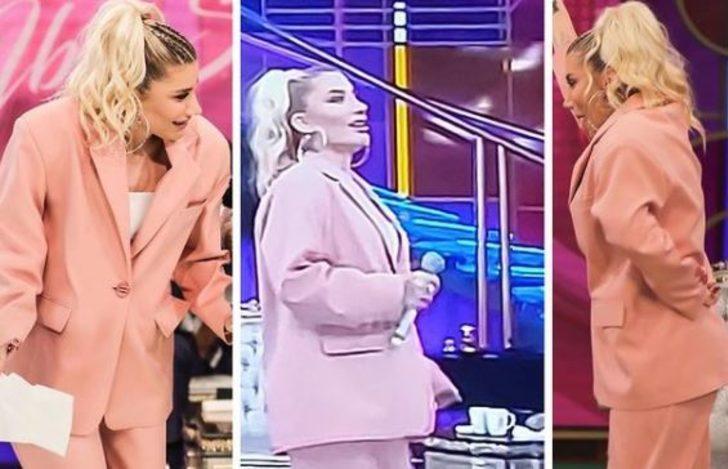 İbo Show'a katılan İrem Derici'nin kıyafeti olay oldu!