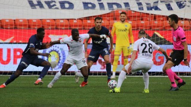Gaziantep FK'dan Kasımpaşa maçında müthiş geri dönüş