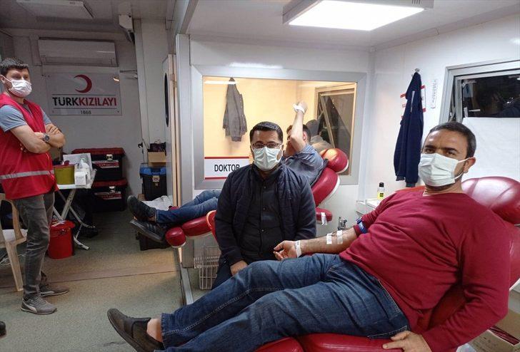 Batman'da iş dünyasından Türk Kızılay'a kan bağışı desteği
