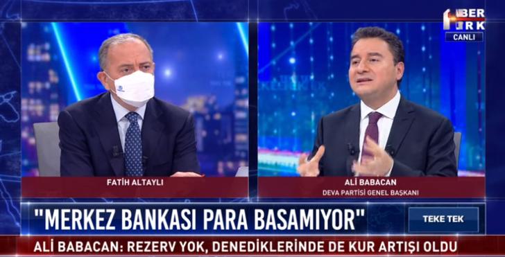 Ali Babacan'dan Berat Albayrak açıklaması: Boş koltuk bile ülkeye kazandırdı