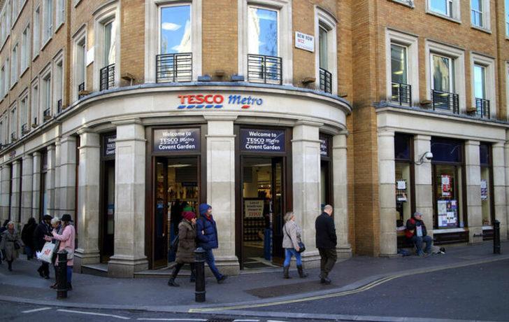 Dünyaca ünlü market zinciri Tesco'ya tarihi ceza!