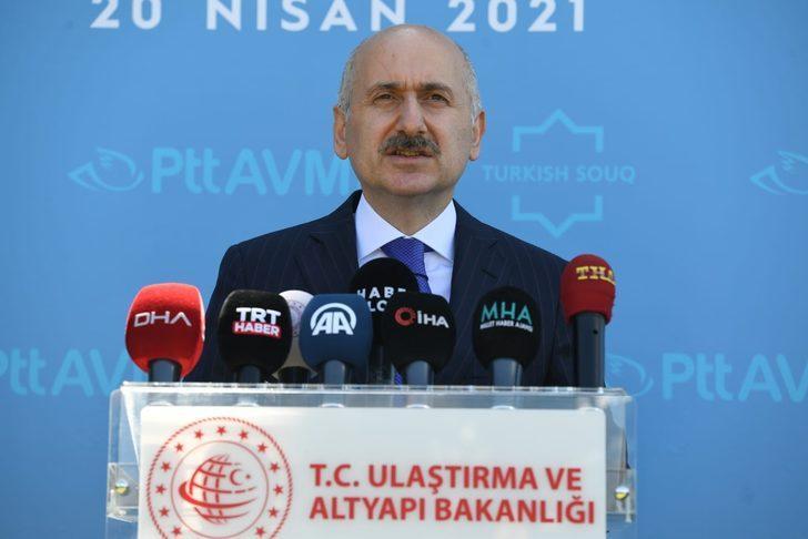 Bakan açıkladı, PTTAVM e-ihracata başlıyor!