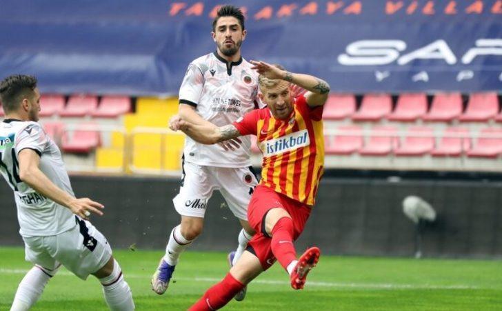 Kayserispor-Gençlerbirliği maçında kazanan çıkmadı