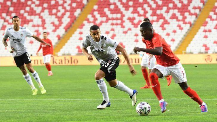 Beşiktaş'ta Welinton, Kayserispor maçında yok