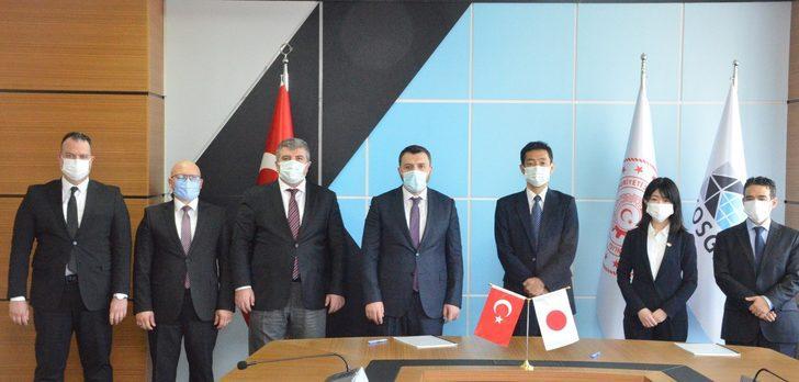 KOSGEB ile Japonya arasında dev anlaşma!