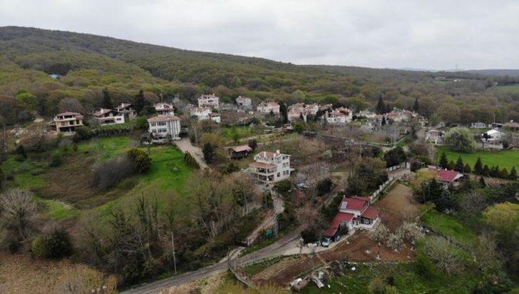İstanbul'un 600 yıllık köyü havadan görüntülendi! Tarihi dokusu görenleri hayran bıraktı