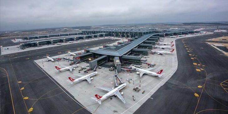 Pandemide havalimanlarında 73 milyon yolcuya hizmet verildi