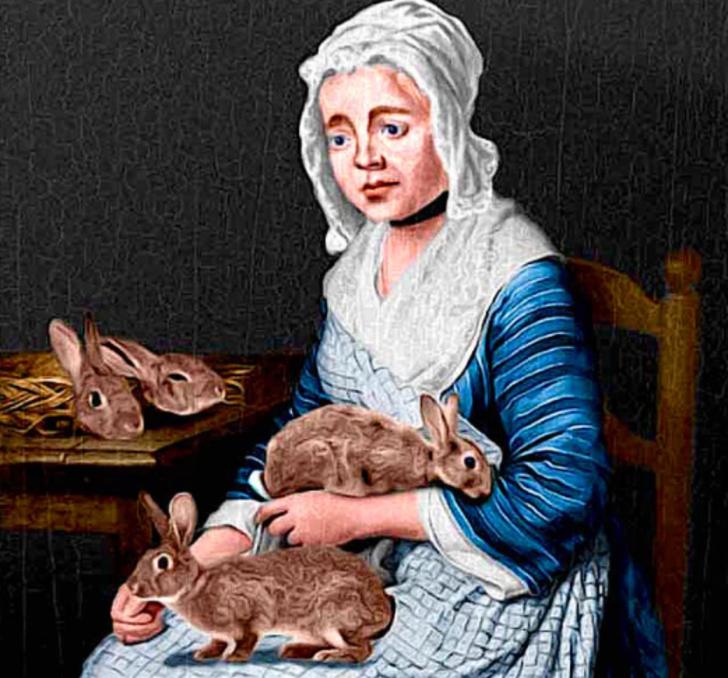 Tıp tarihinin en büyük sansasyonu! Tavşan doğurduğunu iddia eden sahtekar kadın: Mary Toft