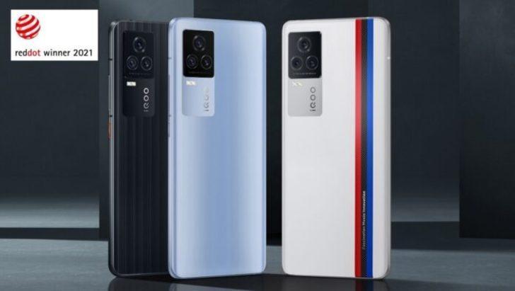 İQOO 7, 2021 Red Dot Ürün Tasarımı Ödülü'nü kazandı