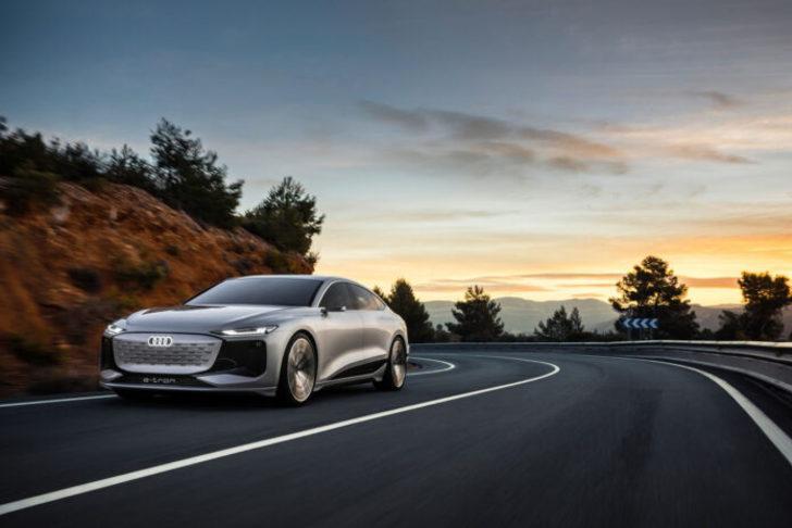 Audi A6 E-Tron Concept görücüye çıktı