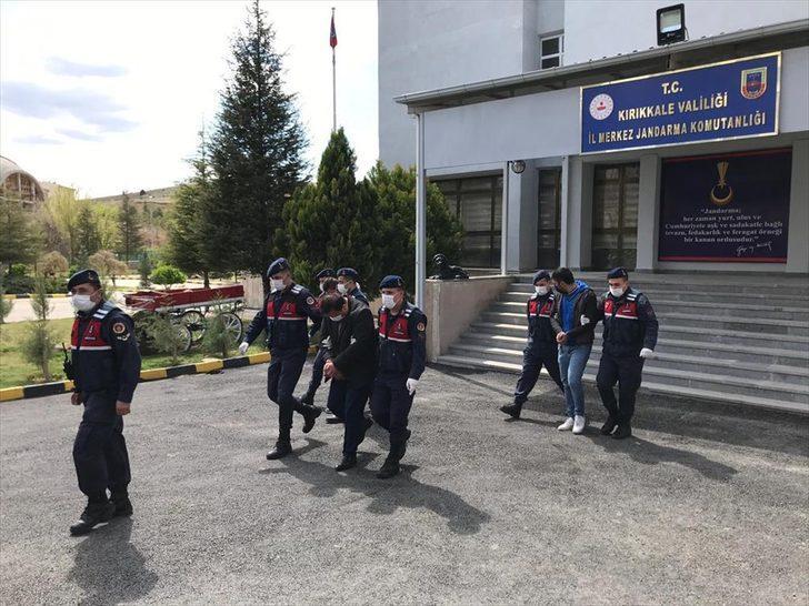 Kırıkkale'de uyuşturucu ticareti yapan suç örgütüne yönelik operasyonlarda 4 zanlı tutuklandı