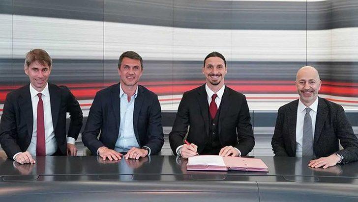 Zlatan Ibrahimovic Milan ile sözleşmesini uzattı