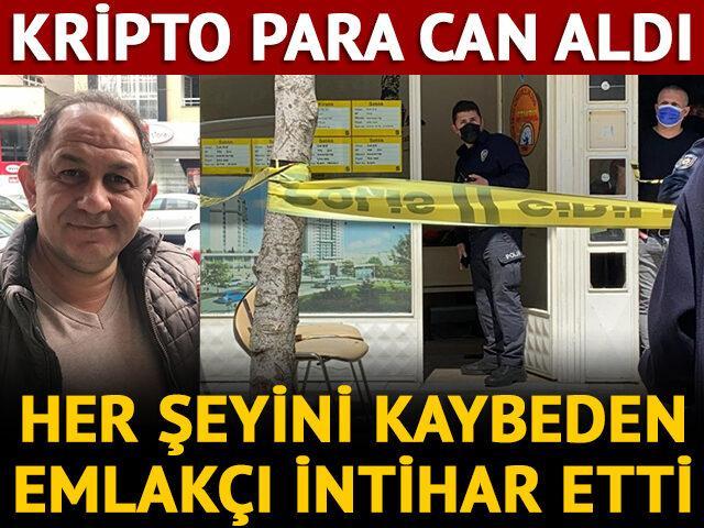 Dehşete düşüren olay! Kripto para mağduru emlakçı kendini vurdu