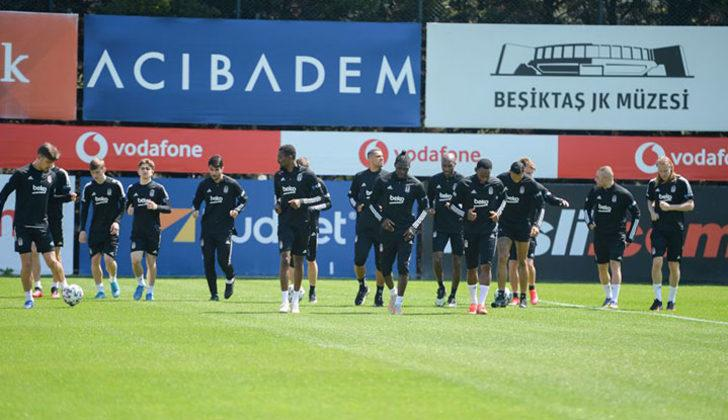 Beşiktaş'ta Kayserispor maçı kamp kadrosu açıklandı