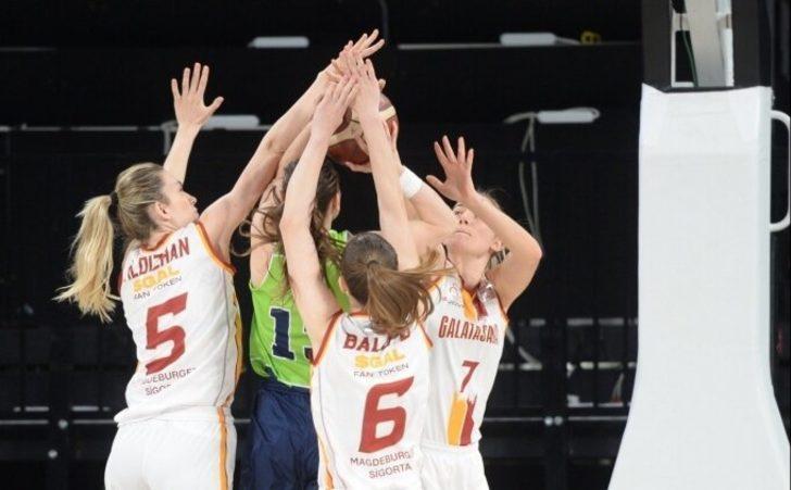Nesibe Aydın, Galatasaray'ı 3 sayı farkla mağlup etti
